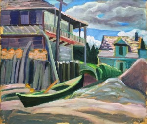 Анни Саваж - Возле Metis Beach, 1930