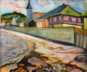 Анни Саваж - Возле Metis Beach, 1940