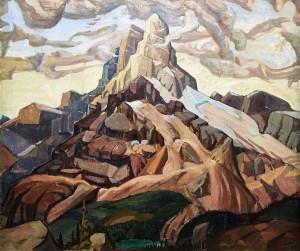 Артур Лисмер - Гора Кафедраль, 1928