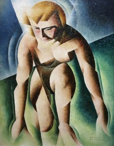 Бертран Броокер - Коленопреклоненная, 1940