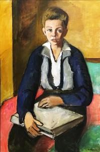Гудридж Робертс - Мальчик с книгой, 1942
