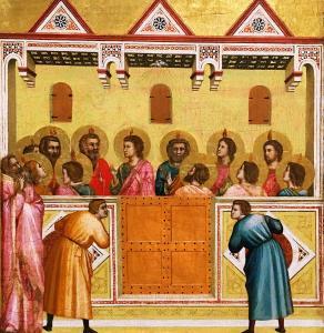 Джотто - Пятидесятница, ок. 1310 (Лондон)
