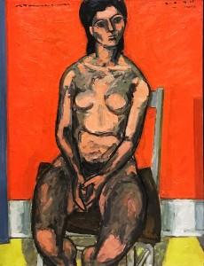 Жак де Тоннанкур - Сидящая обнаженная, 1944