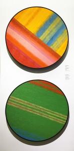 Жан-Поль Моссо - (вверху) Без названия, (внизу) Зеленое пространство