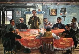 Жан Поль Лемье - Деревенский сход, 1936