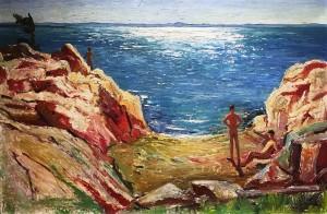 Жан Поль Лемье - Купальщики в Порт-а-Персил, 1951