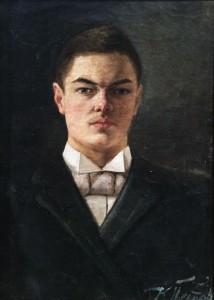 Кузьма Петров-Водкин - Автопортрет, 1890-е