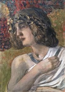 Кузьма Петров-Водкин - Орфей, 1906