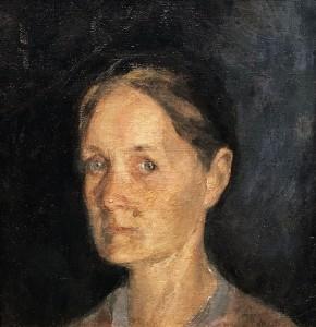 Кузьма Петров-Водкин - Портрет матери, 1903