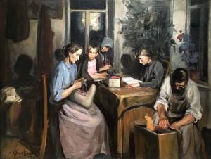 Кузьма Петров-Водкин - Семья, 1902