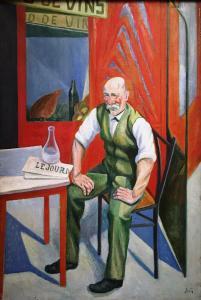 Леон Сола - Любитель вина, ок. 1925