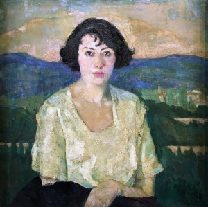 Лилия Торренс Ньютон - Портрет Марселль, 1921