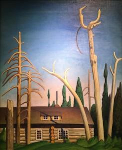 Лорен Харрис - Сруб, 1925