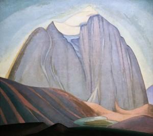 Лорен Харрис - Храм-гора, 1925