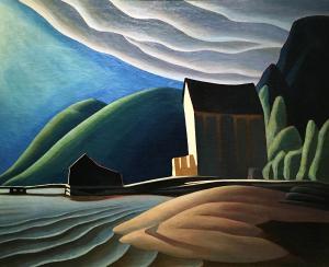Лорен Харрис -  Ледяной дом, Колдвелл, озеро Верхнее, 1923
