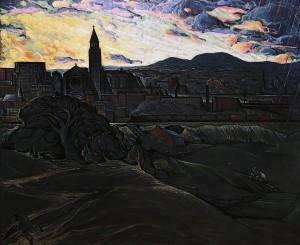 Марк Аурель Фортен - Буря над Хочелагой, 1940