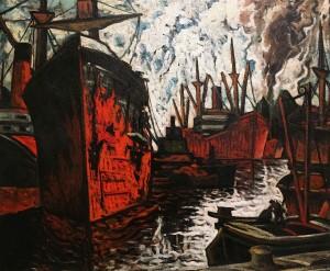 Марк Аурель Фортен - Монреальский порт, 1934-44