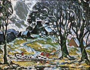Марк Аурель Фортен - Первый снег, 1937