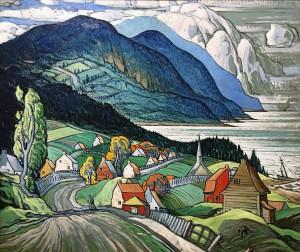 Марк Аурель Фортен - Сант-Симеон, 1938