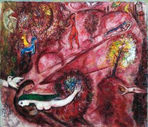 Марк Шагал - Песнь песней I, 1960