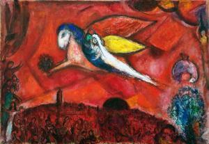 Марк Шагал - Песнь песней IV, 1960