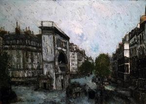 Морис Утрилло -  Ворота Сен-Мартен, ок. 1908
