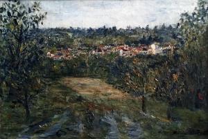 Морис Утрилло -  Монманьи, ок. 1906