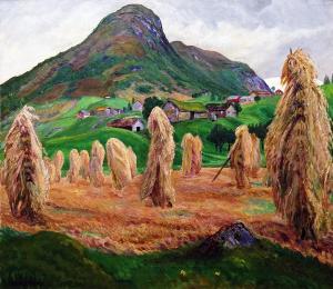 Николай Аструп - Стожки, ок. 1907