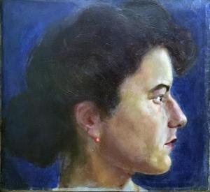 Пауль Клее - Женский портрет, 1903