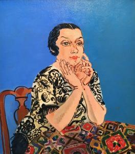 Рауль Дюфи - Портрет Эмильенн Дюфи, 1930