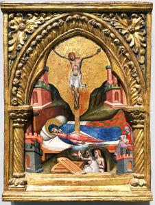 Симон деи Кроцефисси - Сон Приснодевы, 1365 (Лондон)