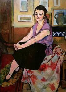 Сюзанна Валадон - Портрет Марии Лани, 1928