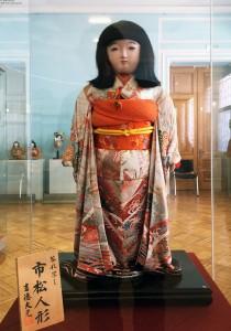 Торэй нингё уцуси Итимацу нингё (копия подаренной куклы Итимацу)