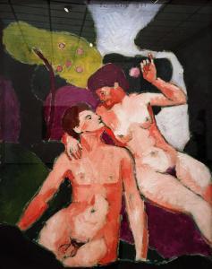 Франсис Пикабиа - Адам и Ева, 1911