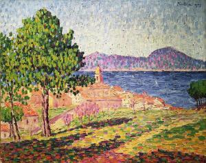 Франсис Пикабиа - Вид Сан-Тропе из Цитадели, 1909