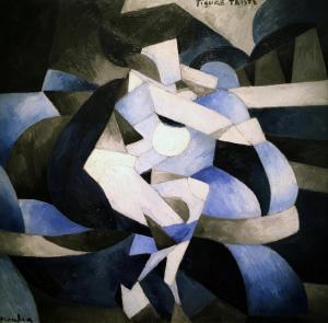 Франсис Пикабиа - Печальная фигура, 1912
