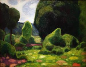Франсис Пикабиа - Пейзаж Юра, 1909