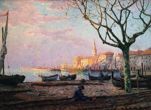 Франсис Пикабиа - Порт в Миди, 1907