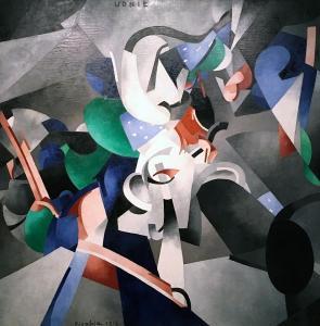 Франсис Пикабиа - Посвящение Удни, 1913