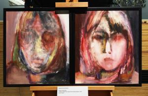 Юкари Накашима - Гляжу на свое лицо, рисуя лицо матери, 2015