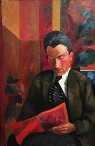 Ян Вацлав Завадовский (Жан Завадо) - Портрет, ок. 1915