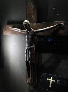 Неизвестный автор - Распятие, XII в., галерея Онтарио, (Торонто).