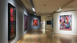 В зале Альфреда Пеллана Музея изящных искусств Квебека