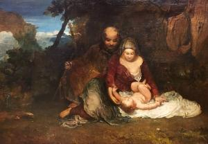 Holy Family exhibited 1803