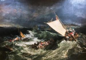 The Shipwreck exhibited 1805