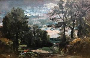 A Lane near Flatford 1810