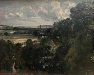 Dedham from near Gun Hill, Langham 1815
