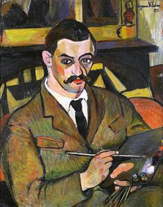 МОРИС УТРИЛЛО - Портрет работы Сюзанны Валадон, 1921