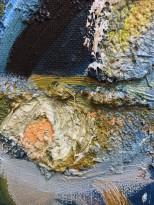 Валерик Апинян - Натюрморт 2, 1988 (холст, масло), фрагмент
