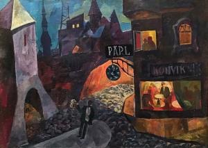 Валерий Ватениин - Старый Таллин, 1965 (холст, масло)